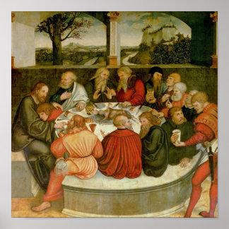 Triptych, left panel, Philipp Melanchthon Poster