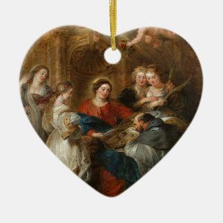Triptych St. Idelfonso - Peter Paul Rubens Ceramic Ornament