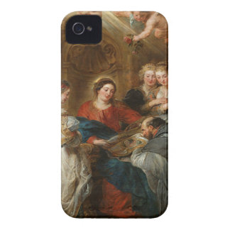 Triptych St. Idelfonso - Peter Paul Rubens iPhone 4 Case