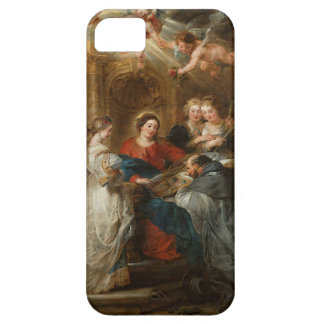 Triptych St. Idelfonso - Peter Paul Rubens iPhone 5 Covers