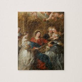 Triptych St. Idelfonso - Peter Paul Rubens Jigsaw Puzzle