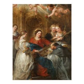 Triptych St. Idelfonso - Peter Paul Rubens Letterhead