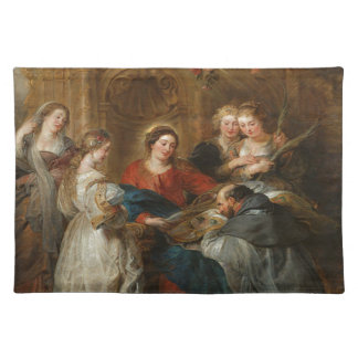 Triptych St. Idelfonso - Peter Paul Rubens Placemat