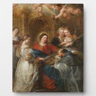 Triptych St. Idelfonso - Peter Paul Rubens Plaque