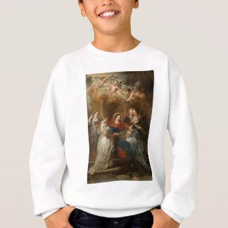 Triptych St. Idelfonso - Peter Paul Rubens Sweatshirt