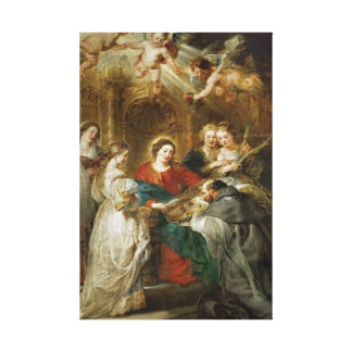 Triptych  Sv . Idelfonso Peter Paul Rubens oil Canvas Prints