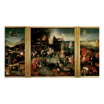 Triptych: The Temptation of St. Anthony Poster