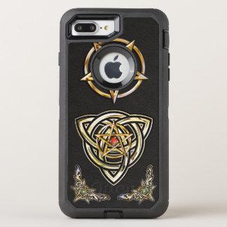 Triquetra Pentagram OtterBox Defender iPhone 7 Plus Case