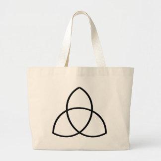 Triquetra-Protection Canvas Bag