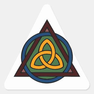 Triquetra Triangle Sticker