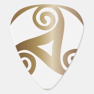 triskele guitar pick