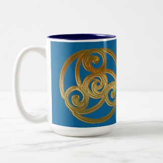 Triskelion Two-Tone Coffee Mug