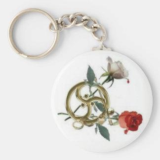 triskellion roses keychain