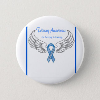 Trisomy 18 Customizable In Loving Memory 2 Inch Round Button