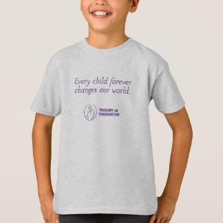 Trisomy 18 Foundation Quote - Kid's Tee
