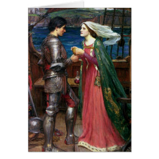Tristan and Isolde Greeting Card