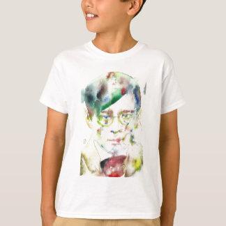 tristan tzara - watercolor portrait T-Shirt
