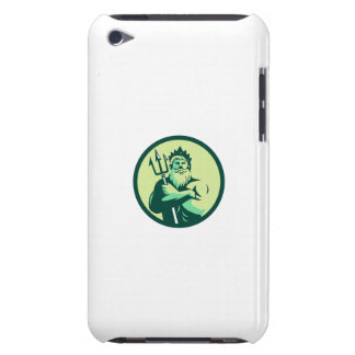 Triton Arms Crossed Trident Circle Retro Barely There iPod Case