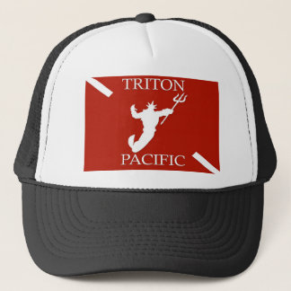 Triton Pacific Logo Trucker Hat