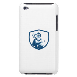 Triton Trident Arms Crossed Crest Retro Barely There iPod Cases