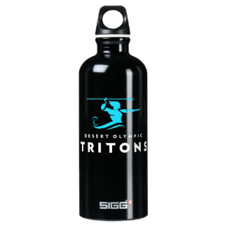 Tritons Black Water Bottle