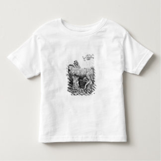 Tritons grooming two horses of the sun shirts