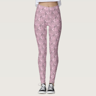 Tritty Foxtrotter Dusky Pinks Leggings