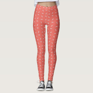 Tritty Trotter White Leggings