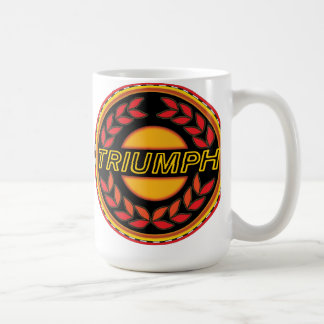 Triumph Cars wreath Coffee Mug