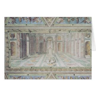 Triumph du christianisme des salles de Raphael Cartes De Vœux