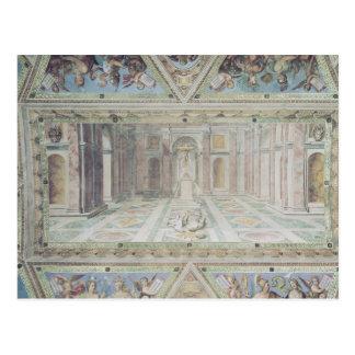 Triumph du christianisme, des salles de Raphael Cartes Postales