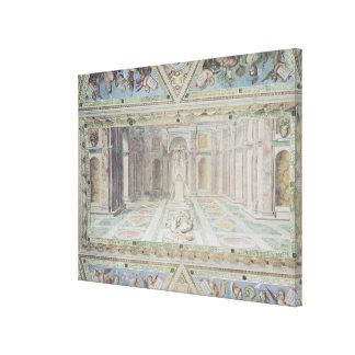 Triumph du christianisme, des salles de Raphael Toiles Tendues