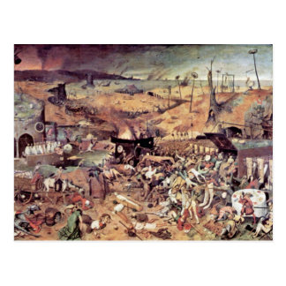 Triumph Of Death By Bruegel D. Ä. Pieter Postcard