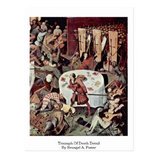 Triumph Of Death Detail By Bruegel A. Pieter Postcard