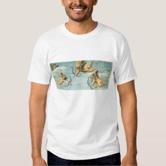 Triumph of Galatea, Angels detail by Raphael Tshirts