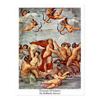 Triumph Of Galatea, By Raffaello Sanzio Postcard