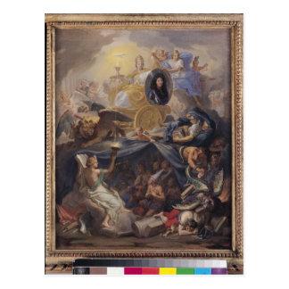 Triumph of Religion, 1686 Postcard