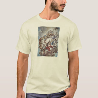 Triumph Of The Medici In The Clouds Of Mount Olymp T-Shirt
