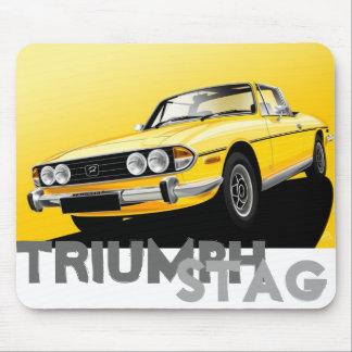 Triumph Stag Mouse Mat Mouse Pad