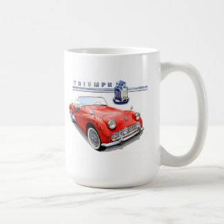 Triumph TR3 painting Coffee Mug