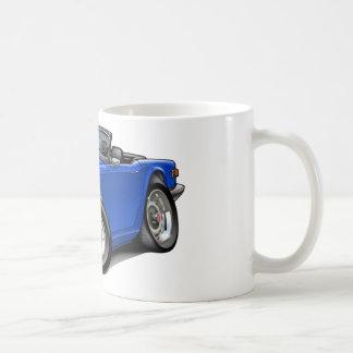 Triumph TR6 Blue Car Coffee Mug
