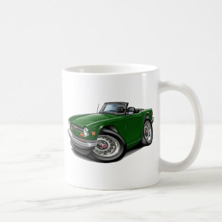 Triumph TR6 Green Car Coffee Mug