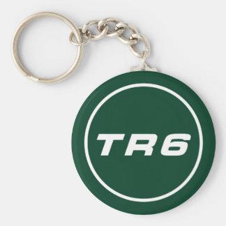 Triumph TR6 key supporter BRG Keychain