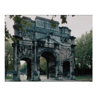 Triumphal Arch, north face, Orange, France Postcard