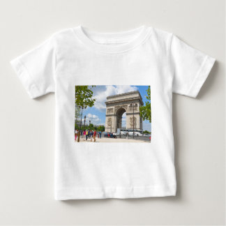 Triumphal Arch on Champs Elysees boulevard in Pari Baby T-Shirt
