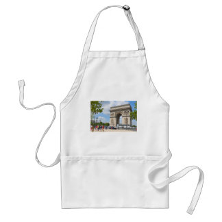 Triumphal Arch on Champs Elysees boulevard in Pari Standard Apron
