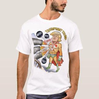 Triumphant Trump Super hero T-shirt