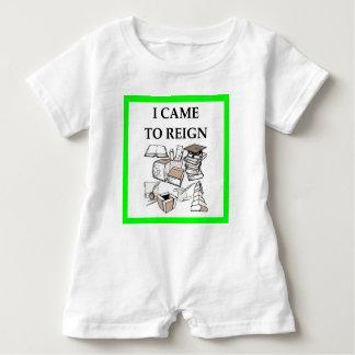 trivia baby romper