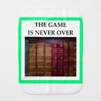 TRIVIA BURP CLOTH