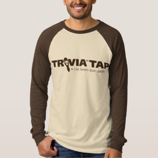 Trivia on Tap long sleeve -- logo - Customized T-Shirt